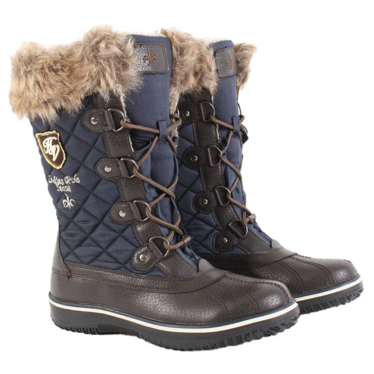 Winter Boots Shoe | HV Polo Ladies Winter Boots Navy