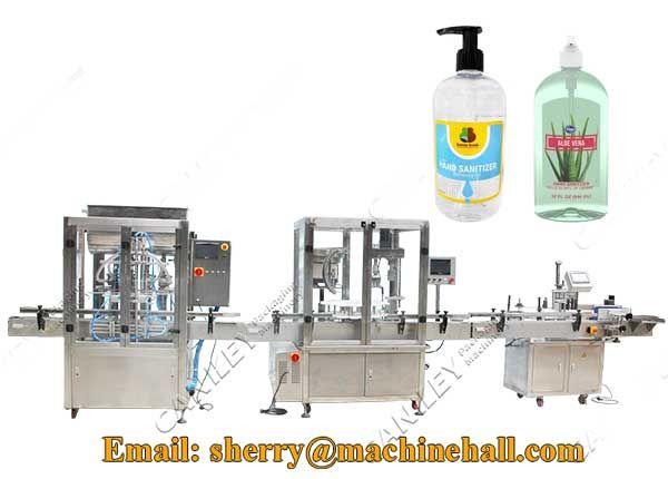 Hand Sanitizer Filling Machine In 2020 Hand Sanitizer Shampoo Body Butter
