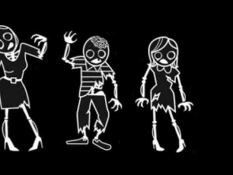 Is your family a little bit different? Zombie Family Stickers