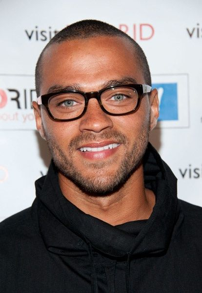 jesse williams - those glasses, those eyes and those freckles =)