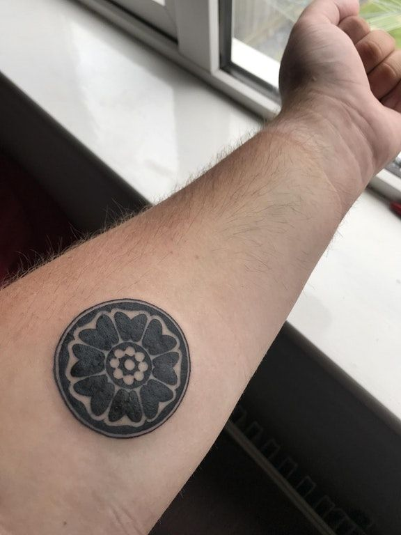 Finally Got My Order Of The White Lotus Tattoo Thought You Guys