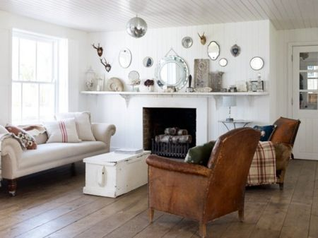 Natural Modern Interiors: How To Decorate :: The Modern Country Style   Modern  Country