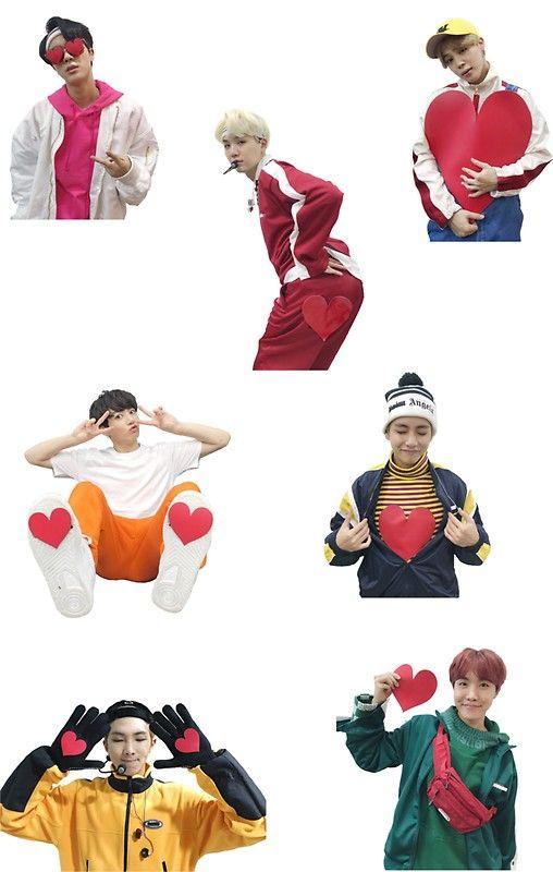 BTS gogo hearts from MBC NYE