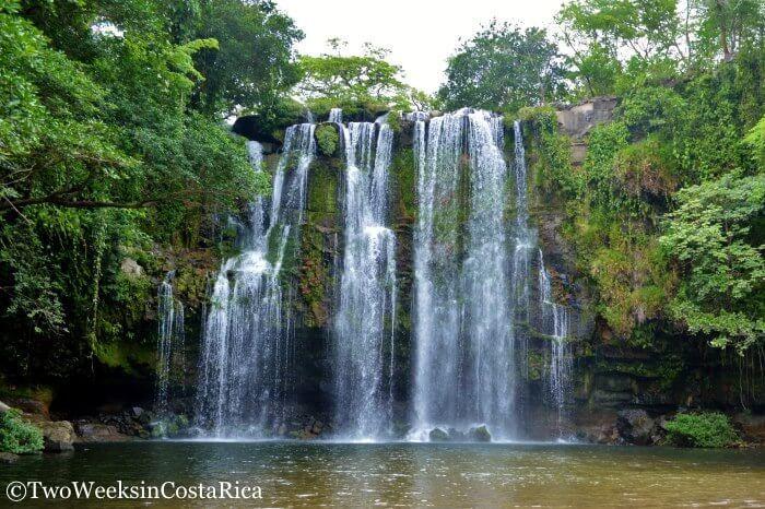 Llanos de Cortez Waterfall  Location: Between Liberia and Bagaces (Guanacaste Province)