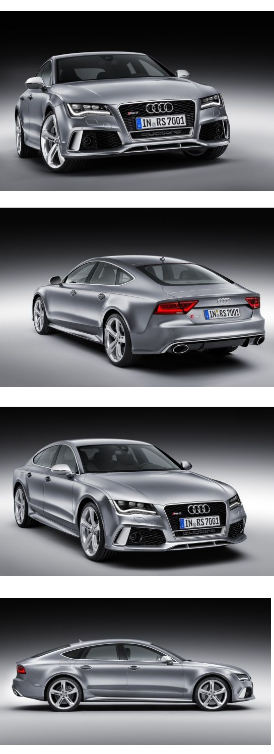 2014 Audi RS7 hogs the limelight at the Detroit Auto Show