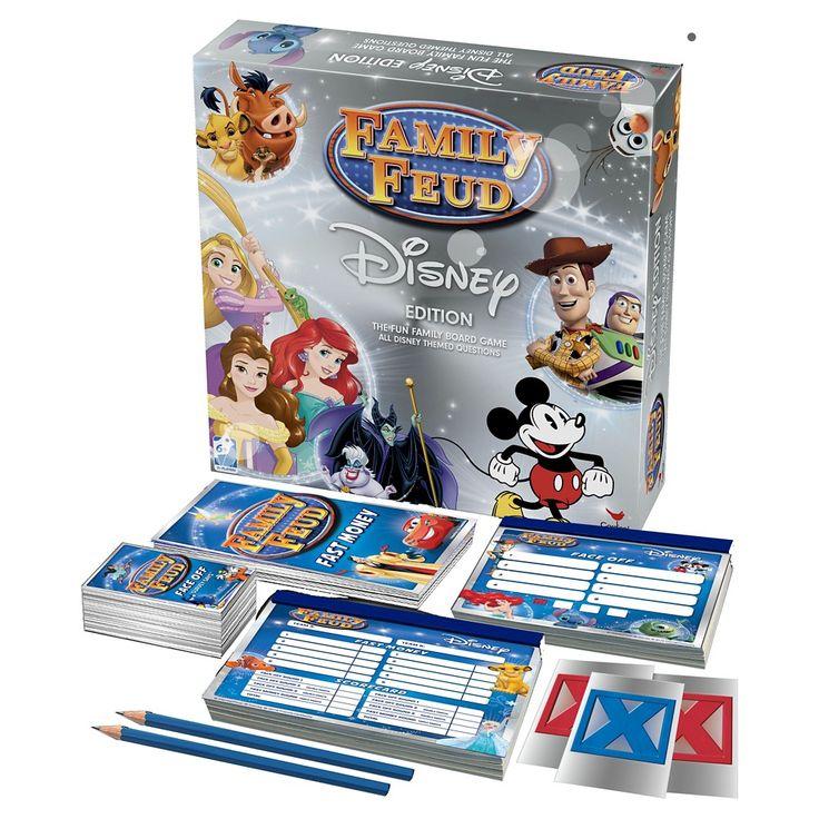 Disney Family Feud Signature Game