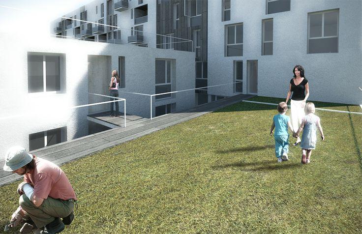 Housing quartiere Adriano, giardini in quota - Milano