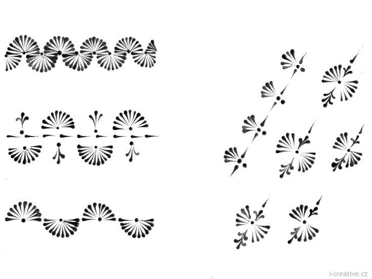 Předlohy pro zdobení vajec voskem | i-creative.cz - Kreativní online magazín a omalovánky k vytisknutí