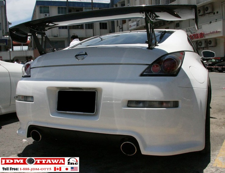 03 08 Nissan 350Z ING Full Body Kit , Fender U0026 Spoiler NSMO PKG