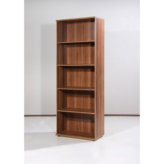 Rhodes style without the slats -  Power Range Walnut Filing Cabinet with 4 Shelves, 0987-88