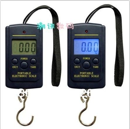 Factory Direct Sales-Portable scale kitchen scale mini electronic scales 50kg KG LB Change with blue background Light No Battery