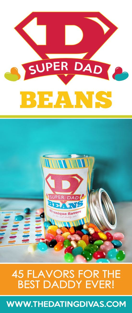Best Father's Day Gift Idea- Super Dad Jelly Beans!