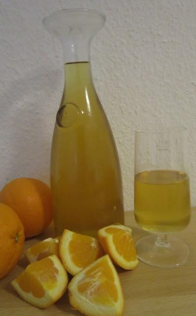 Licor de Laranja / Orangenlikör