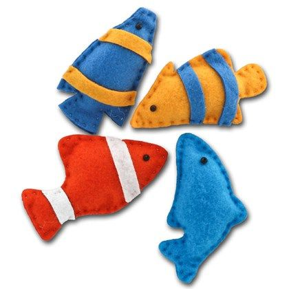 Materialsats 4 fiskar