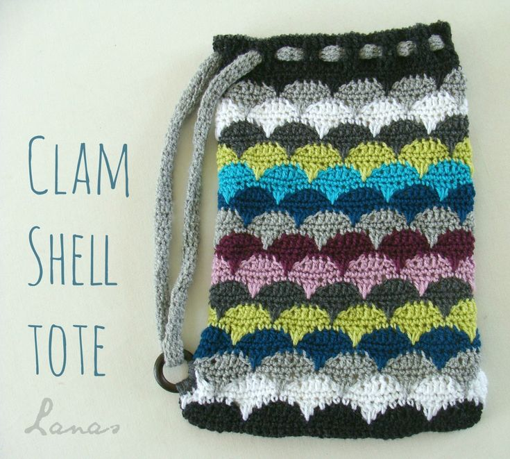 Lanas de Ana: 3 Clam Shell Projects