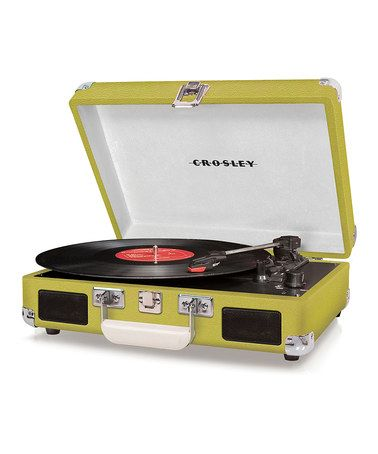 Green Cruiser Turntable by Crosley on #zulily