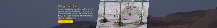 Leading china based piling machine and tools manufacturer offering quality foundation equipment's. For more info Visit http://www.foundation-tools.com