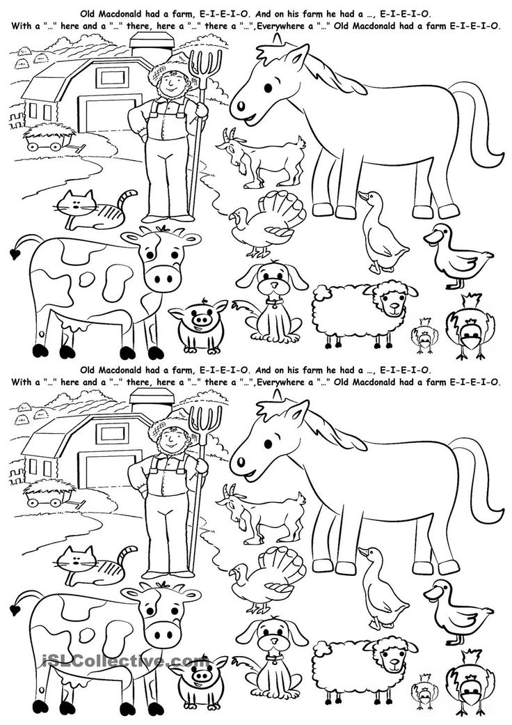 17 best images about farm animals on pinterest cut and paste activities and student centered. Black Bedroom Furniture Sets. Home Design Ideas