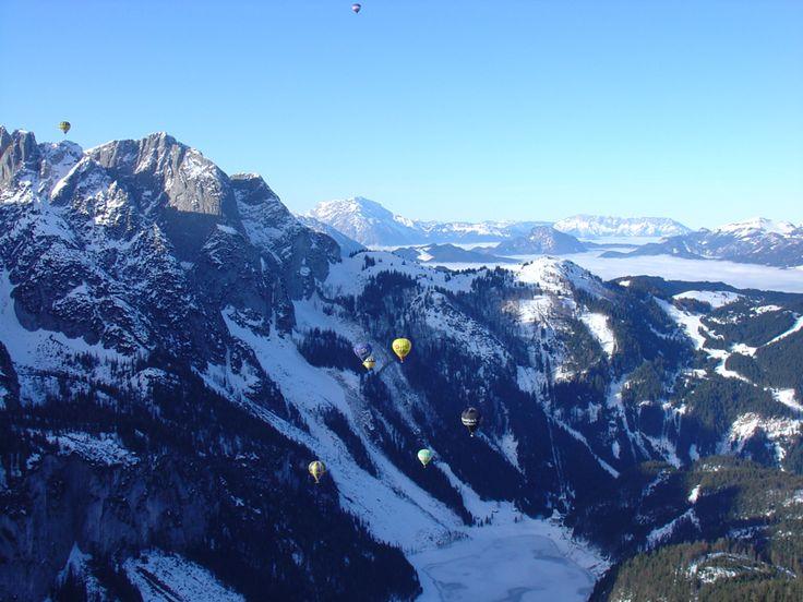 Let balonem Alpy
