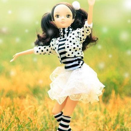 Суставного Тела Kurhn Куклы Для Девочек Моды Игрушки Для Детей Дети Рождественские Подарки Девушки Игрушки #6103 6104 купить на AliExpress
