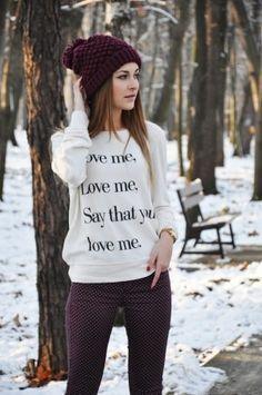 16 Outfits para verte hermosa durante el invierno
