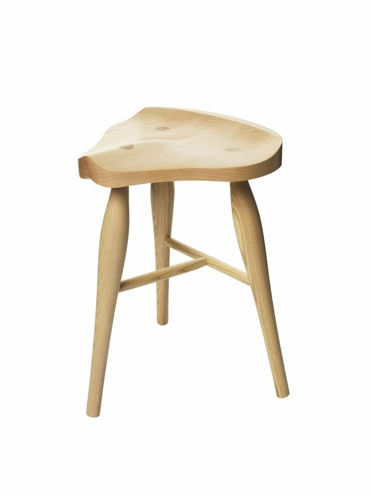 Maple Saddle Stool via AYLA. Click on the image to see more!