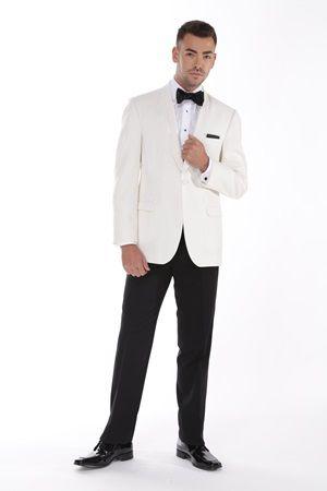Ivory Ike Behar Dinner Jacket #STweddings #StreetTuxedo