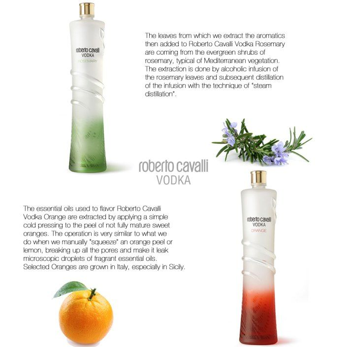 Rosemary and Orange – Roberto Cavalli Vodka