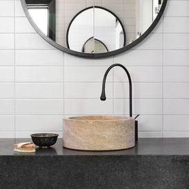 Contemporary Powder Room by D'Cruz Design Group Sydney Interior Designers