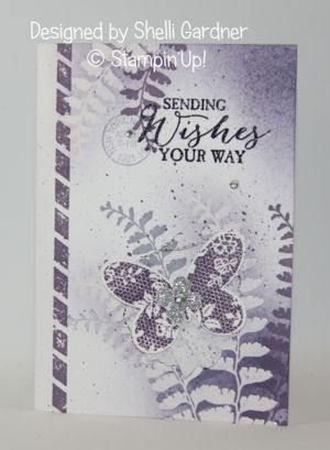 Butterfly Basics with Shelli Gardner & Dawn video | Stampin'Up! Demonstrator Stamping Videos Stamp Workshop Classes Scissor Charms Paper Crafts | Bloglovin'