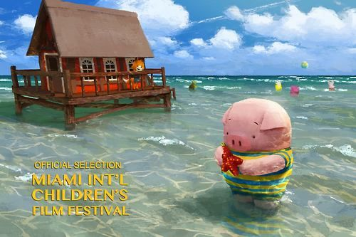 miami international children's film festival poster