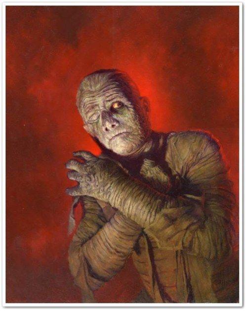 The Mummy ~ Daniel R. Horne