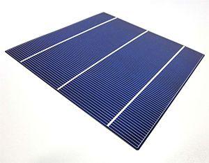 célula fotovoltaica policristalina