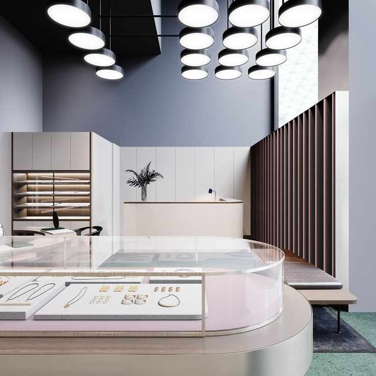 The Jewelry Store In Astana For ST Architects