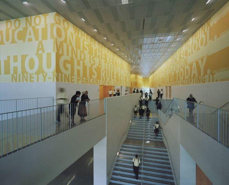 LB Landry High School In New Orleans United States Education School Design Interior