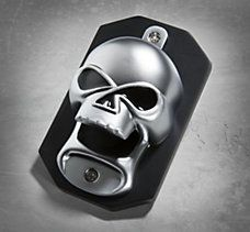 Skull Magnetic Bottle Opener Perfect For The Garage