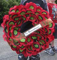 handmade  ANZAC Day wreath