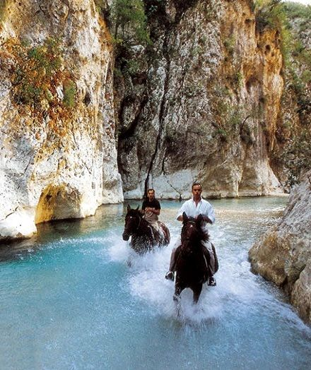 Riding in Acheron River.. Gliki, Thesprotia (Epirus), Greece How fun does this look !