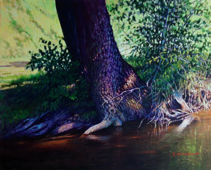 """Hanging On"" $3,600.00 24"" X 30"" Oil Painting"