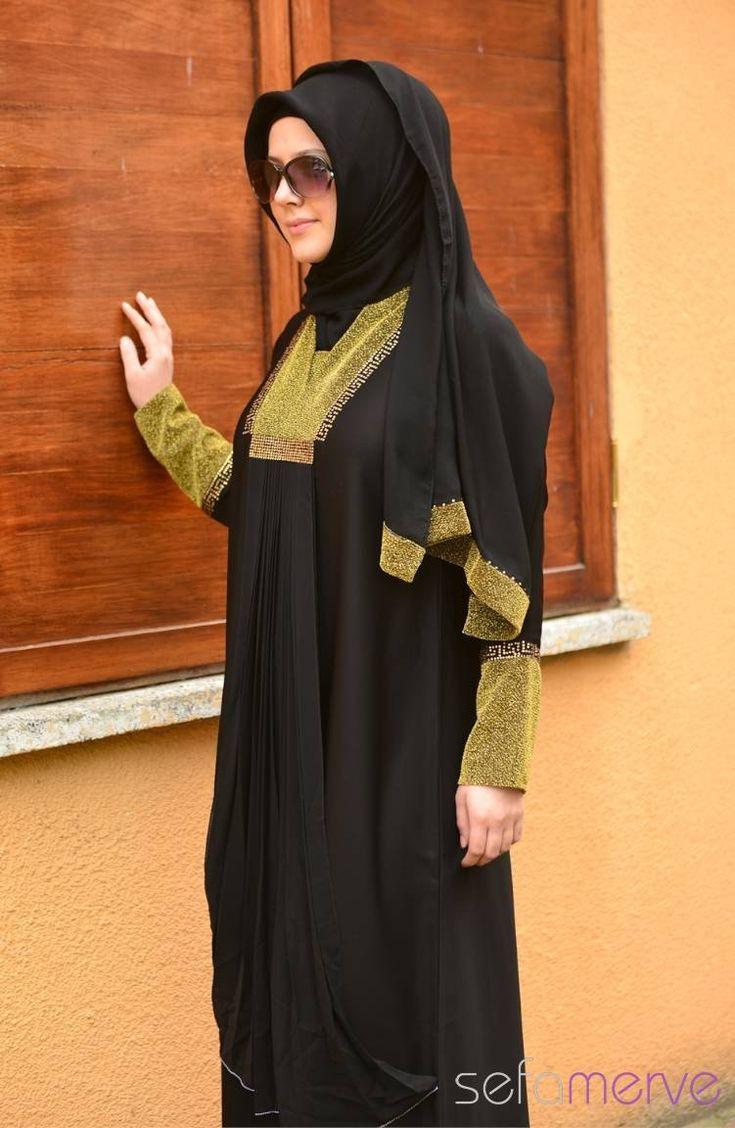 Minahill Feraceler 8095-01 Siyah Sarı