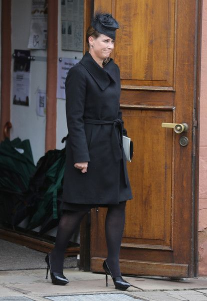 Princess Martha Louise Photos - Princess Martha Louise of Norway leaves the funeral service for the deceased Prince Richard of Sayn-Wittgenstein-Berleburg (1934 - 2017) at the Evangelische Stadtkirche on March 21, 2017 in Bad Berleburg, Germany. Prince Richard, husband of Princess Benedikte of Denmark, died suddenly on March 13, 2017 at age 83. - Prince Richard Funeral Service in Bad Berleburg