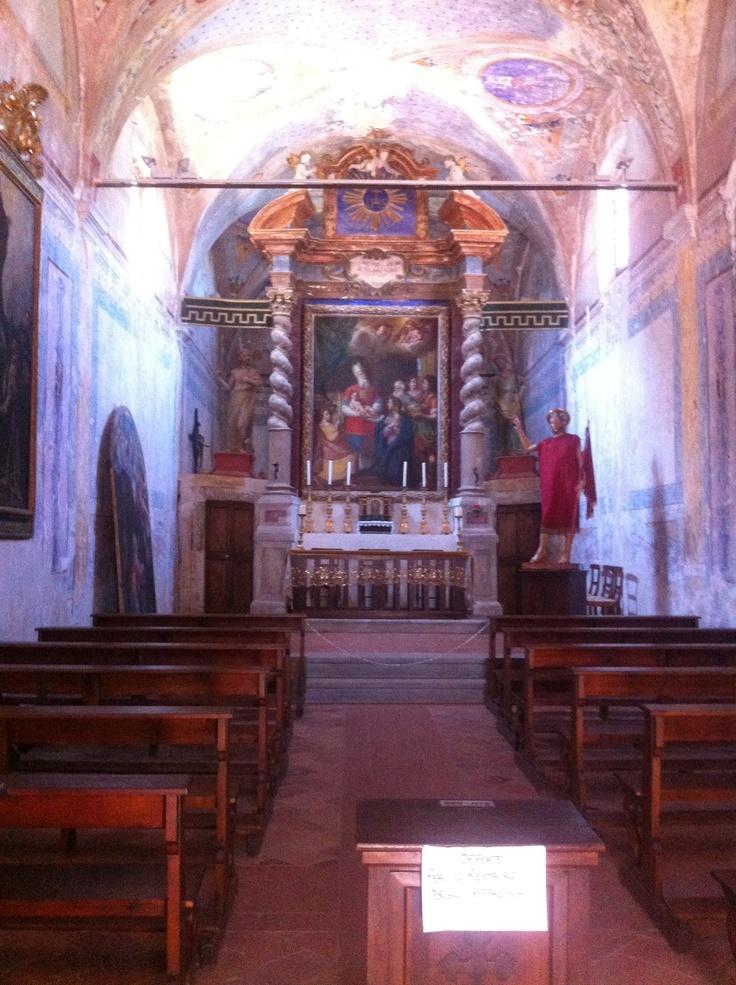 Church on Isola Maggiore - Passignano sul Trasimeno www.romanticitalianweddings.com