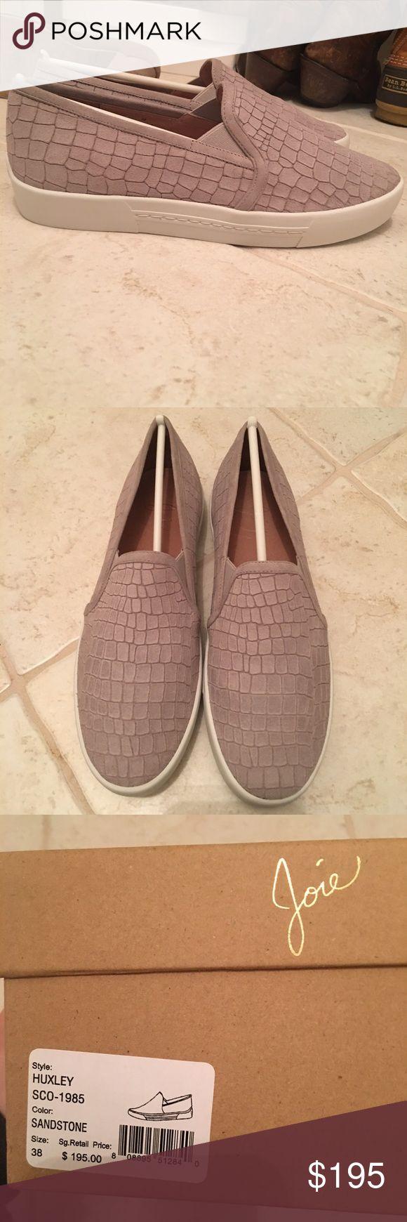 Joie Huxley Sandstone Sneakers Sandstone, size 38, never worn Joie Shoes