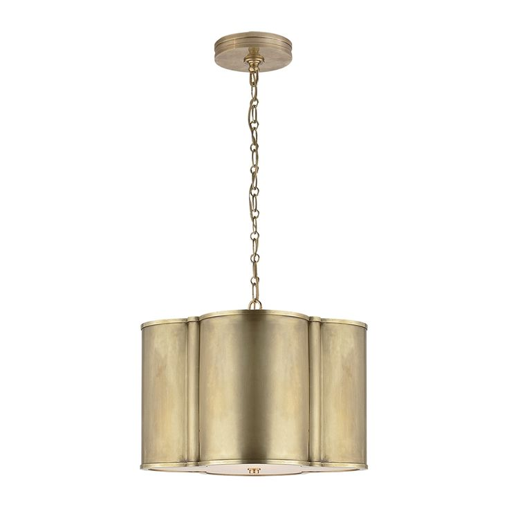 Shop Visual Comfort AH5216 Alexa Hampton Basil Small Hanging Shade Pendant Light at The Mine. Browse our pendant lights, all with free shipping and best price guaranteed.