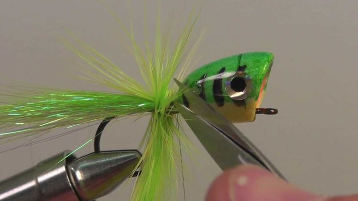 Bass popper fly fly patterns pinterest watches and bass for Fishing poppers for bass