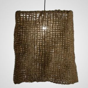 Jute Hanging Net Light - Beach Style - Chandeliers - Miami - OurBoatHouse
