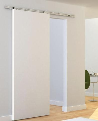 M s de 25 ideas incre bles sobre guias para puertas - Puertas interiores correderas ...