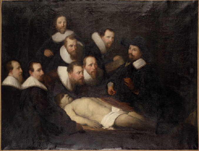 La leçon d'anatomie du professeur Tulp, Rembrandt