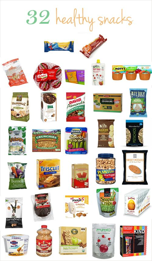 32 healthy snacks to fulfill your craziest cravings! Visit Duanereade.com to get these snacks and more.