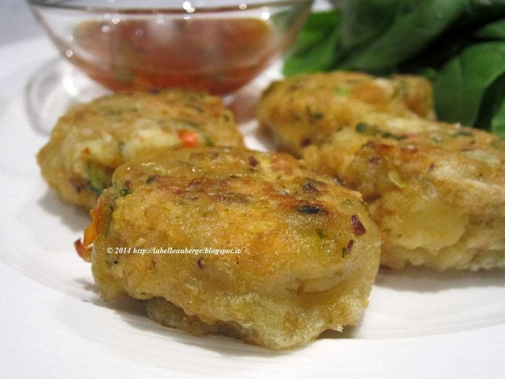 La Belle Auberge: Thai fish cake. Tortini di pesce in stile thai